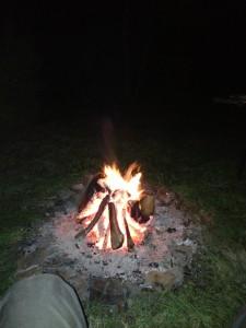 Und Abends am Feuer sitzen...