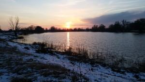 Winter am Wasser
